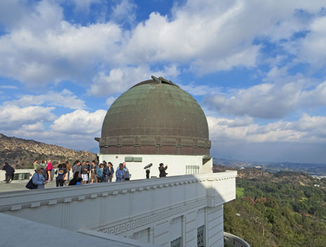 Griffith Observatory near Hollywood
